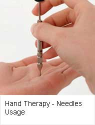 Hand Therapy - Needles Usage
