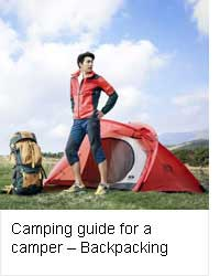 Camping guide for a novice camper - Backpacking