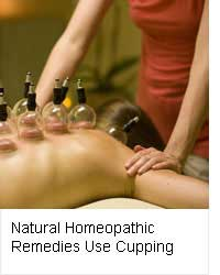 Natural Homeopathic Remedies Use Bu-hang Cupping Therapy