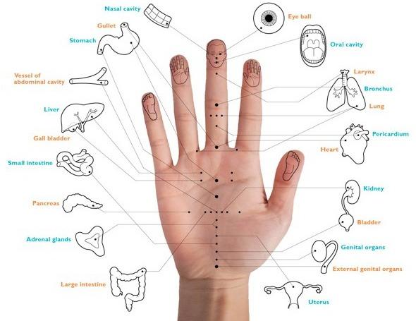 Hand-acupuncture