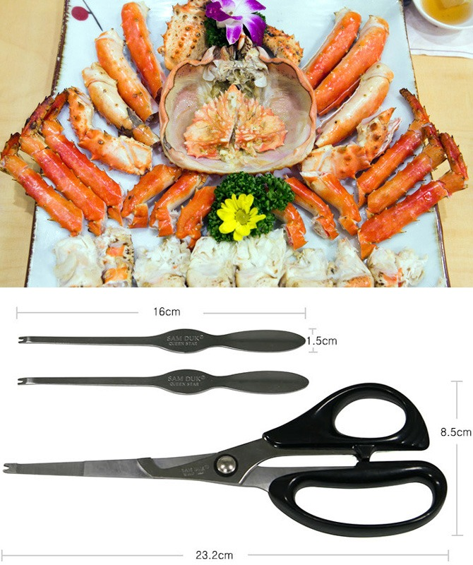 Scissors for crab